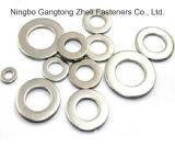 높은 양 탄소 강철 DIN125 편평한 세탁기