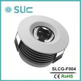 3W luz actual constante al por mayor de la cabina del escaparate LED con la viruta del CREE (Slcg-F004)