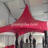 Tenda esterna in bianco e nero resistente 6m del Pagoda del Gazebo del vento