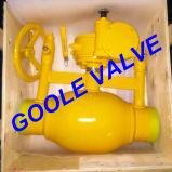150lb/300lb/600lb/900lb вполне бурят Discharging тип польностью сваренный шариковый клапан (GAQ61PPL)