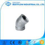 150lbs ha avvitato l'acciaio inossidabile 304 o 316 che riduce un gomito da 90 gradi