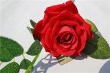 Venta al por mayor de alta calidad de las flores artificiales de Rose para la decoración de la boda