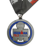 Médaille bon marché nationale de sports de trophées de médaillon en métal de médaille de l'Australie et de médailles de base-ball avec la bande