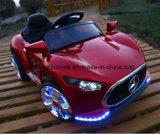 O passeio dos miúdos do carro dos brinquedos das crianças no carro caçoa o carro de bebê do carro elétrico
