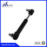 Einfaches passendes Gas Struts Stickstoff-Gasdruckdämpfer mit klassischer Nylonkugel für Möbel mit schwarzer Beschichtung