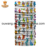 Bandana 100% tubulaire multifonctionnel fait sur commande de polyester de vente en gros