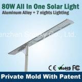 10W-50W 세륨 FCC 증명서 옥외 점화를 가진 태양 LED 거리 정원 빛
