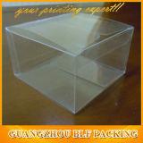 Venta al por mayor en blanco transparente caja de embalaje transparente