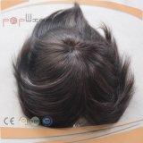 La meilleure pleine partie de vente de cheveu de Handtied de base fine de lacet de première pente