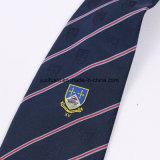 Modificar los lazos para requisitos particulares tejidos insignia tejidos el Mens de seda