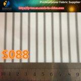 Forro preto/branco do terno, tela tingida da listra do fio de poliéster para o forro (S79.88)