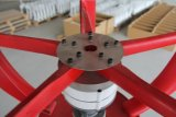 Turbina de viento vertical del eje de la CA 24V 200W (SHJ-NEV200R)