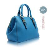Blaue Form Handtasche für Zubehör-Ansammlungen der Frauen