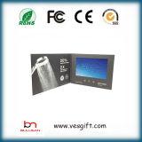 Брошюры экрана LCD высокого качества 10 '' видео- для подарков дела