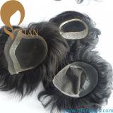 Mono con il Toupee svizzero della parte anteriore del merletto dell'unità di elaborazione per gli uomini (TT604)