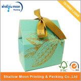 Boîte de empaquetage à chocolat de papier à extrémité élevé avec la bande (AZ122809)