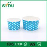 Salat-Wegwerfpapierfilterglocke für Schnellimbiß mit Kappe