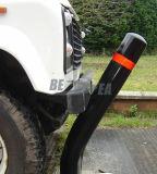 con Easy Girar Poliuretano Camino de Plástico Flexible de Seguridad Bolardo