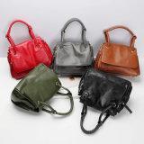 Dz042. A forma das bolsas do desenhador do saco das senhoras das bolsas do saco de couro da vaca do vintage da bolsa do saco de ombro ensaca o saco das mulheres