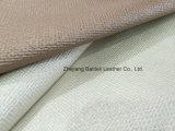 Tela de Upholstery tecida do PVC do teste padrão para o sofá/mobília/decoração interior Home