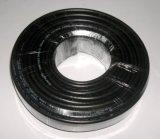 Câble RG6 coaxial de liaison en bloc du prix usine de qualité 1000FT pour la télévision en circuit fermé (COUVERTURE de 60%)