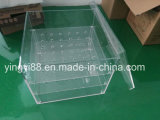 Fabricante acrílico desobstruído impermeável de Shenzhen da caixa de embalagem de /Rose da caixa da flor