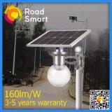 5years luz solar solar impermeable del jardín de la luz de calle de la garantía LED