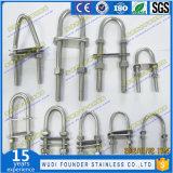 高品質のFatenerのステンレス鋼の洗濯機およびナットのVボルト