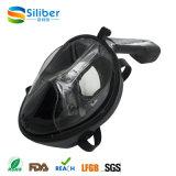 Projeto da forma máscara do Snorkel da face cheia de um Gopro de 180 graus