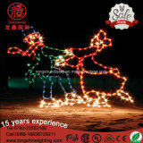 LED 1.5m Lawn Decorative IP65 Boys Dancing Christmas Light para luz ao ar livre
