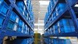Aduana que procesa el servicio - fábrica del metal de hoja
