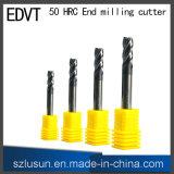 Utensile per il taglio del laminatoio di estremità dell'acciaio di tungsteno di Edvt 50 HRC