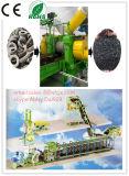 タイヤのリサイクルプラント、機械、ラインをリサイクルするタイヤをリサイクルする使用されたタイヤ