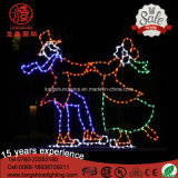 LED 1.5m Lawn Decorative IP65 Boys Dancing Christmas Light for Outdoor Light