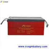 batterie de gel de longue vie de 12V 250ah SMF pour des zones sensibles