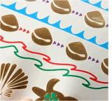 Etiqueta engomada temporal impermeable metálica del tatuaje de la tortuga colorida del oro