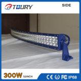 車のライトバーよい防水IP68 4WDを運転している300Wクリー語LED