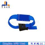 Bracelet sec personnalisé d'IDENTIFICATION RF de diverses puces pour l'identification de bébé