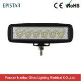 Indicatore luminoso fuori strada caldo luminoso del lavoro di vendita 18W Epistar LED (GT1012-18W)