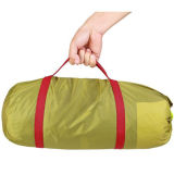 Double Layer 2-4 Person 3 Season Alumínio Rod Camping Tent