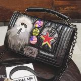 Стильный мешок плеча PU высокого качества сумки повелительниц с значком Sy8070 способа