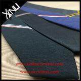 Seda lino tejido Blend mayorista corbatas estrechas costumbre de los hombres