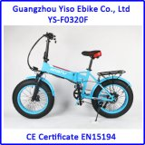 Bicicleta elétrica dobradura gorda aprovada nova do pneu do Ce da mini com bateria escondida
