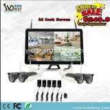 "Spät 22 "" Bildschirm 4CH 1080P WiFi NVR CCTV-System 2.0MP drahtlose IP-Kamera"