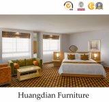 Gewerbliche Nutzung kundenspezifische hölzerne Hotel-Schlafzimmer-Möbel (HD428)