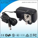 18With15V/1.2A AC de StandaardStop van de Adapter met Ce- Certificaat