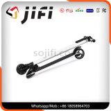 """Auto esperto de duas rodas que balança o """"trotinette"""" elétrico da mobilidade, fibra do carbono que dobra o """"trotinette"""" de E"""