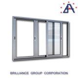 Seguridad de malla de aluminio ventana deslizante con As2047 Estándar