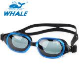 Le clip latéral de PC Anti-Rayent les lunettes Wearproof de bain de lentille