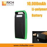 5V Carriable Zonne Li-Polymeer Batterij met Kabel USB